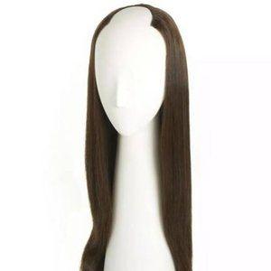 GLAM SEAMLESS Dark Brown U Part Wig Extensions